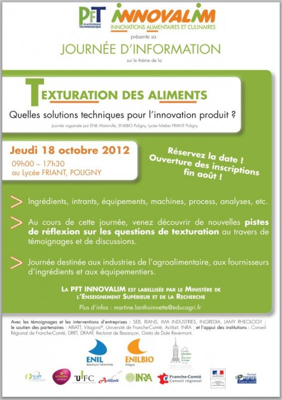 texturation d'un aliment
