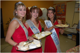 miss présentes au courcours fromage