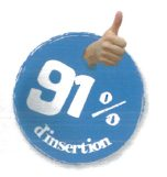 91% d'insertion professionnelle