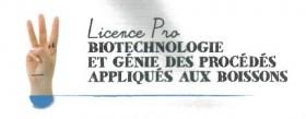 licence pro biotechnologies appliquées aux boissons