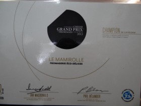 Prix du fromage mamirolle