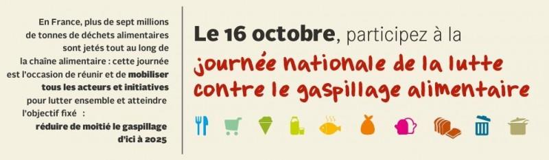 Journée sur l'alimentation et le gaspillage
