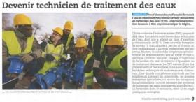 Formation technicien de traitement des eaux