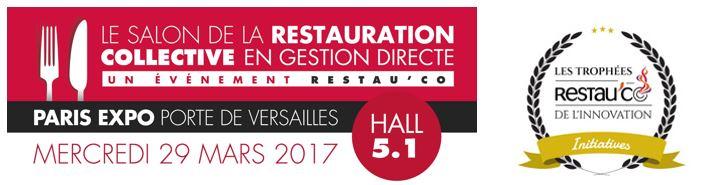 Les apprentis de la licence professionnelle - Salon de la restauration collective ...
