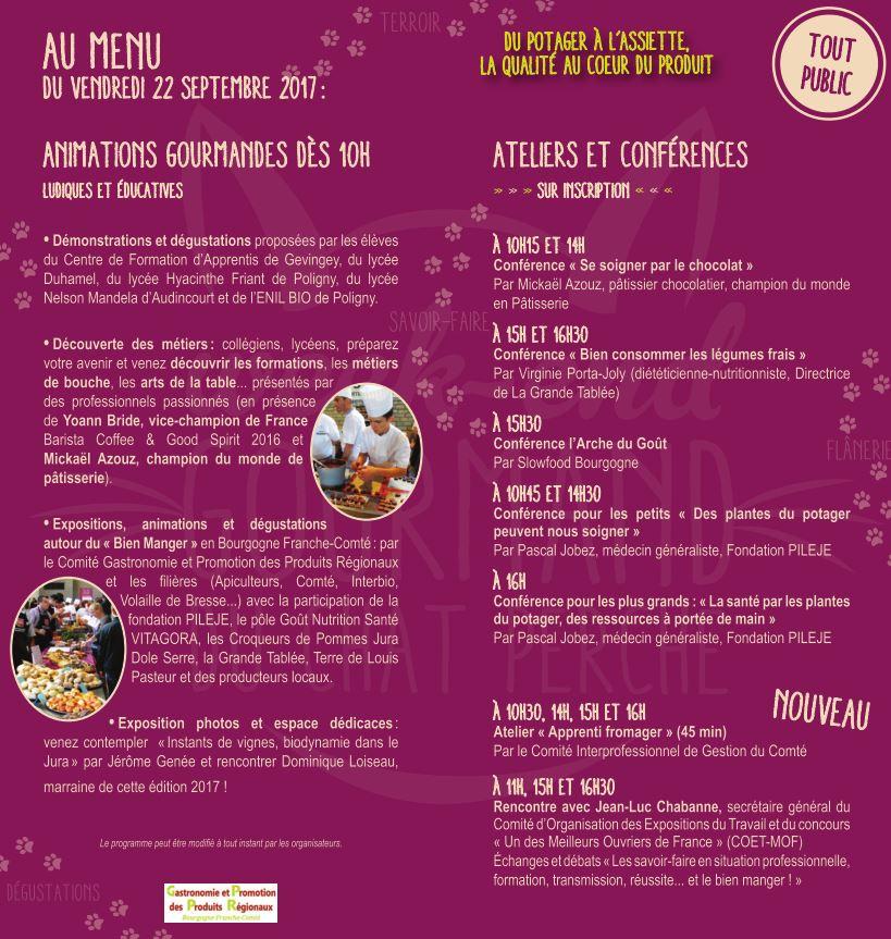 Plus d informations sur le week-end complet   http   www.weekend -gourmand-dole.fr  91f1a04297e8