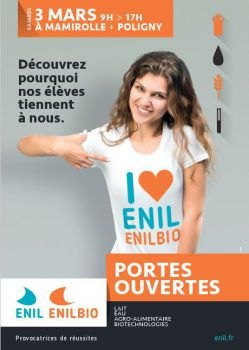 Portes ouvertes du 3 mars 2018 à l'ENIL